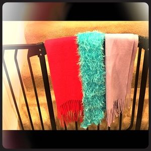 Three beautiful women's scarves